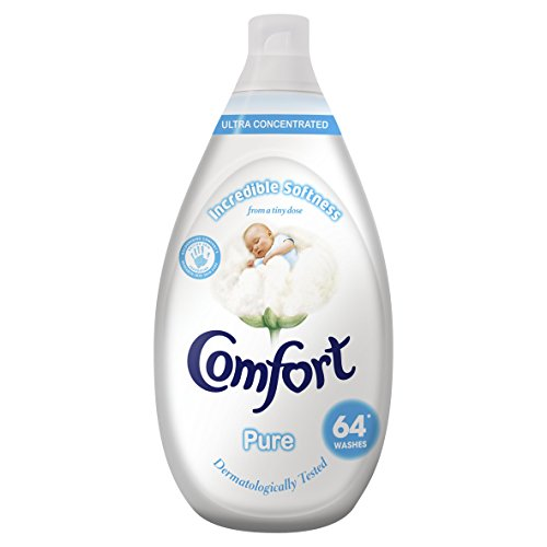 Comfort Pure Ultra Concentrated Fabric Conditioner, 64 Washes, 960ml