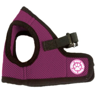 BINGPET BB5005 Classic Soft Vest Dog Puppy Pet Harness Adjustable Small Purple