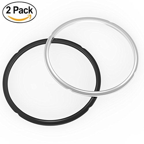 Instant Pot Silicone Sealing Ring - 2 Pack | SWEET and SAVOURY EDITION | 100% Food Safe Silicone | BPA FREE | FDA APPROVED | Fits IP-DUO60, IP-LUX60, IP-DUO50, IP-LUX50, Smart-60, IP-CSG60, IP-CSG50