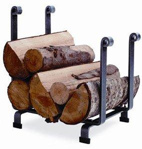 Enclume Hearth Log Rack, Hammered Steel