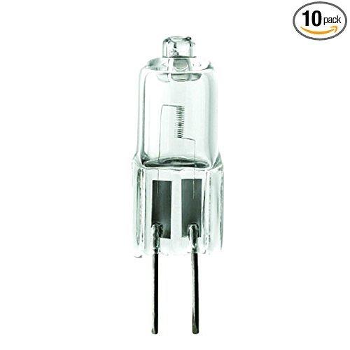 (Pack of 10) 35-Watt 12V JC G5.3 Base Halogen Lamp 35W Bi-Pin Light Bulbs