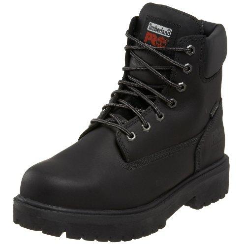 Timberland PRO Men's 26038 Direct Attach 6 Steel Toe Boot,Black,10 M
