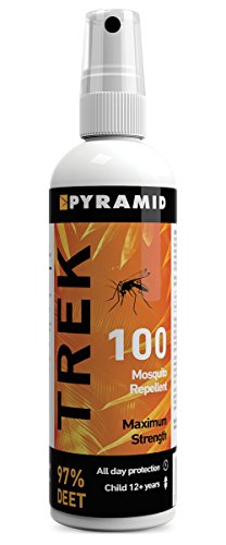 Pyramid Trek 100 (formerly Repel 100) Insect/Mosquito Repellent DEET Spray - 120ml