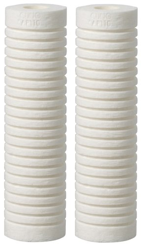 Aqua-Pure AP110 Universal Whole House Filter Replacement Cartridge for Fine/Normal Sediment, 2-Pack