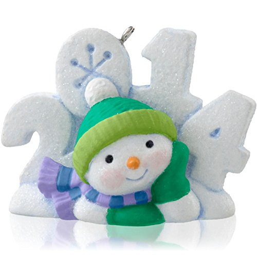 1 X Frosty Fun Decade 5th In Series - 2014 Hallmark Keepsake Ornament