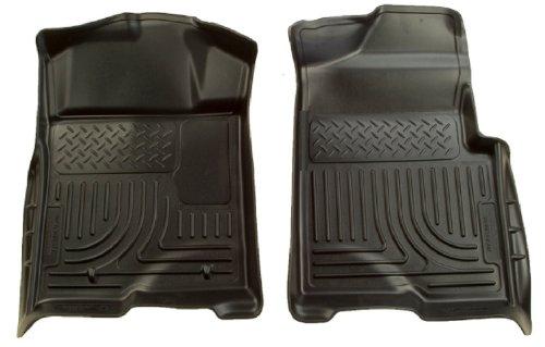 Husky Liners Custom Fit WeatherBeater Front Floor Liner for Select Ford F-150 Models (Black)