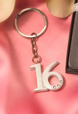 Sweet 16 Key Rings (10)