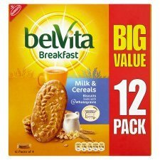 Belvita Breakfast Milk And Cereal Biscuits X 12 Pack 600G