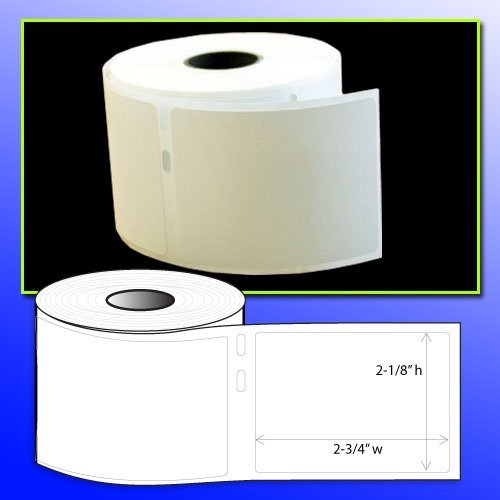 BPA FREE OfficeSmartLabels 2-1/8 x 2-3/4 Diskette Labels (400 labels) Dymo 30324 Compatible for DYMO LabelWriters 330 400 450 Twin Turbo Duo 4XL Printer