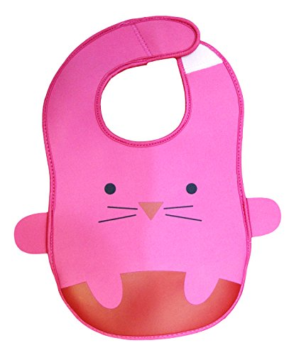 My Baby Peach Flexibib - Food Catcher Bib - Waterproof Bib - CAT