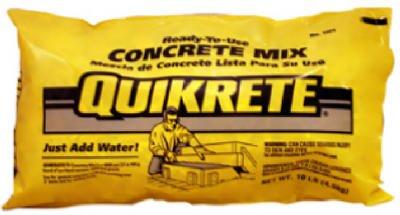 Quikrete #110110 10LB Concrete Mix