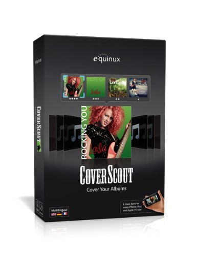 equinux CoverScout 3.x, Cover Art Software