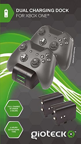 Gioteck Twin Charger Docking Station - Xbox One