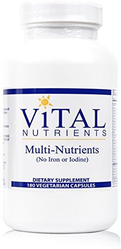 Vital Nutrients  Multi-Nutrients - OTC Promotes Healthy Immune Function,180 Count