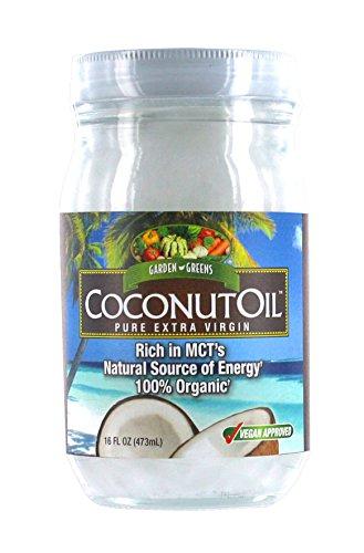 Garden Greens Coconut Oil Paste, 16 Ounce