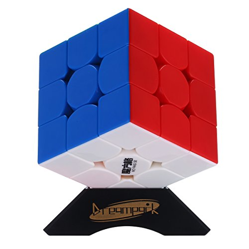 Dreampark Qiyi MoFangGe 2016 New Thunderclap 3x3 Speed Cube stickerless 3x3x3 Magic Cubes Puzzle toys
