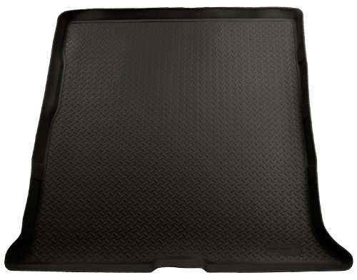 Husky Liners Custom Fit Molded Rear Cargo Liner for Select Ford Expedition/Lincoln Navigator Models (Black)