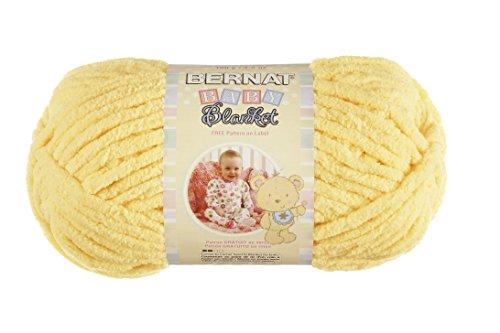 Spinrite Baby Blanket Yarn, Yellow