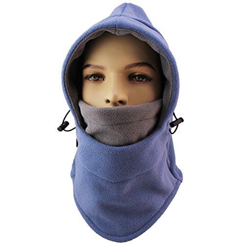 Miracu Heavyweight Balaclava Windproof Ski Face Mask, Women and Men Soft Fleece Winter Hat/Hood for Outdoor Sports