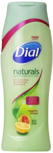 Dial Body Wash, Naturals Tangerine and Guava, 16 Ounce