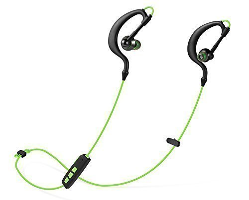 Parasom P6 Sweatproof Bluetooth Earphones Headphones Headsets W/ microphone Sports/running & Gym/exercise for Iphone 6 5s 5c 4s 4, Ipad New Ipad, Android, Samsung Galaxy, Smart Phones(Green)
