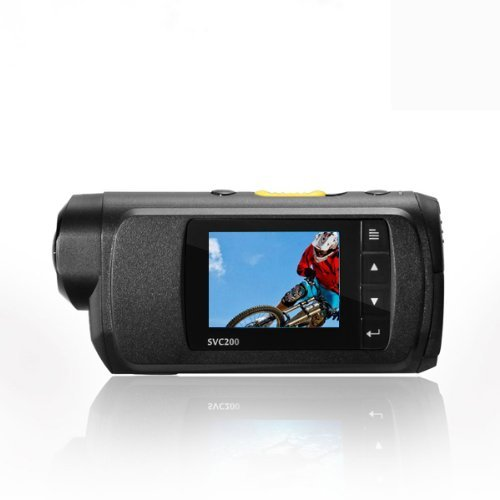 TCL® SVC-200 SVC200 Mini Sport Waterproof DV Digital Camera Camcorder Car DVR for Outdoor Action Surveillance FHD1920X1080 Optical Glass + FREE All Accessories