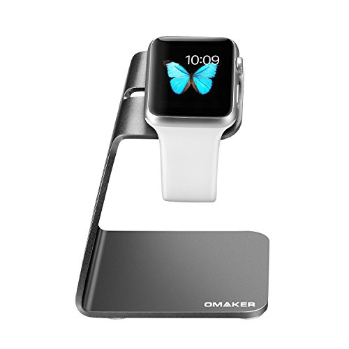 Omaker Minimalistic Apple Watch Charging Dock Station Stand for Apple Watch 38/42mm