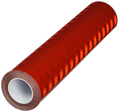 TapeCase Red Micro Prismatic Sheeting Reflective Tape Converted from 3M