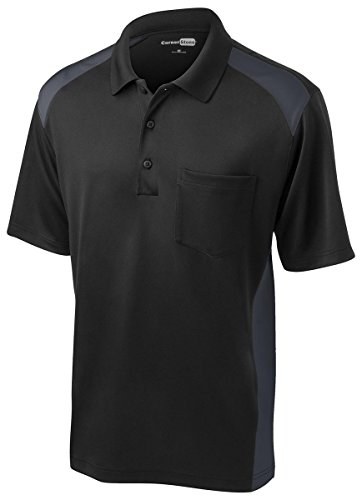Cornerstone Men's Moisture Wicking Pocket Polo Shirt