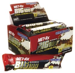 Big 100 Colossal Meal Replacement Bar Super Cookie Crunch 9/3.52 oz (100 grams) Bar(S)