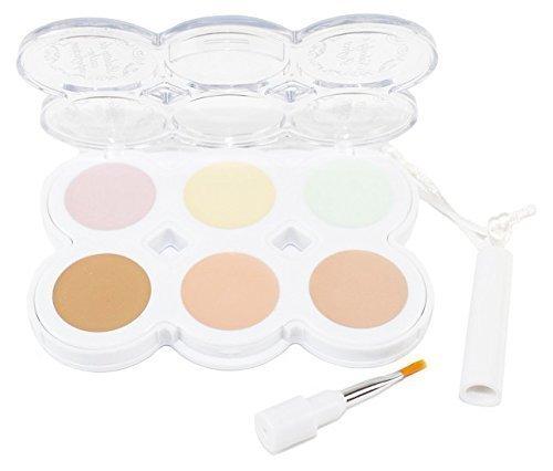 Hard Candy's Nobody's Perfect Concealer Palette (FAIR Palette COLOR) Net Wt. 11.3 g (0.40 OZ)