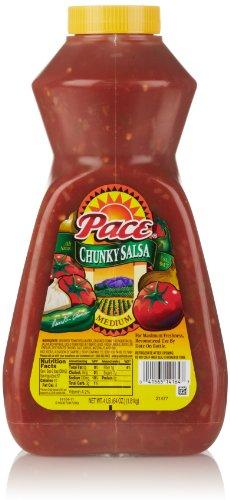 Pace Chunky Salsa, Medium, 64 Ounce