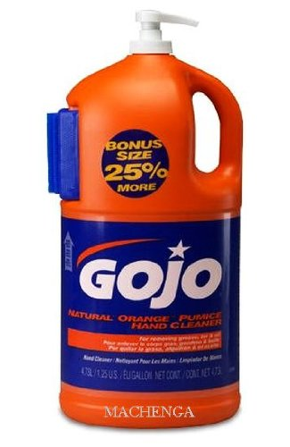 Gojo Natural Orange Pumice Hand Cleaner - 1.25 Gal