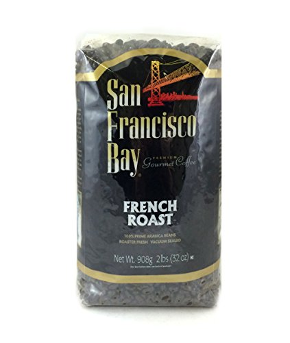 San Francisco Bay Coffee Whole Bean, French Roast, 32 Ounce