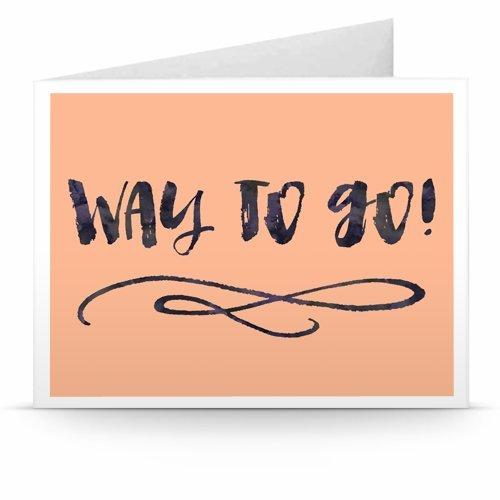 Congratulations (Way to Go!) - Printable Amazon.co.uk Gift Voucher