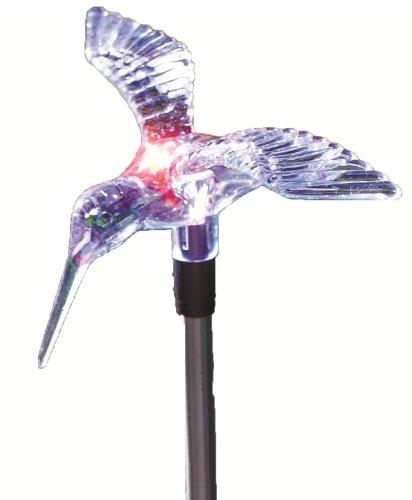 Moonrays 98006 Solar Stake Light Hummingbird Outdoor Decorative LED