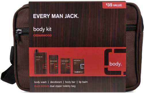 Every Man Jack Every Man Jack Cedarwood Body Kit-1 Kit