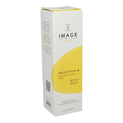 Image Skincare Prevention plus Daily Tinted Oil-Free Moisturizer SPF 30, 3.2 Ounce