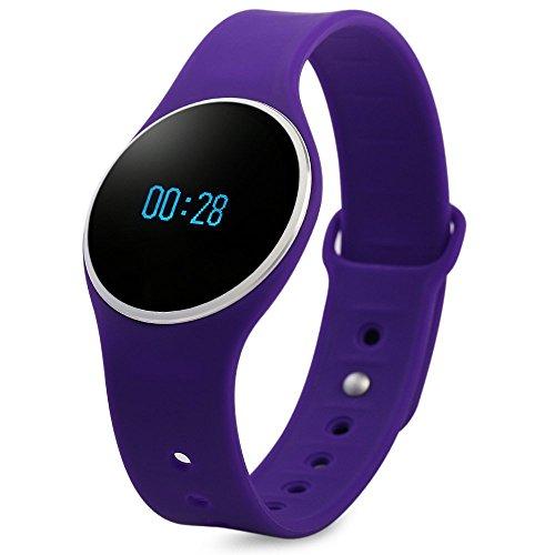 Bluetooth 4.0 Smart Bracelet Waterproof Sport Watch with SMS Reminder Sleep Fitness Tracker Calorie