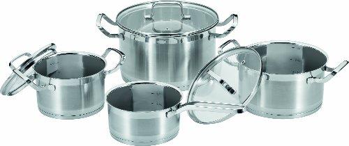ProfiCook PC-KTS 1051 7-Piece Stainless Steel Cooking Pot Set