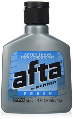 Afta by Mennen, After Shave Skin Conditioner, 3 fl oz (Pack of 5)