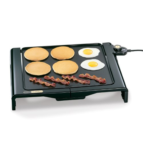 National Presto 07051 Cool Touch Electric Foldaway Griddle, Black