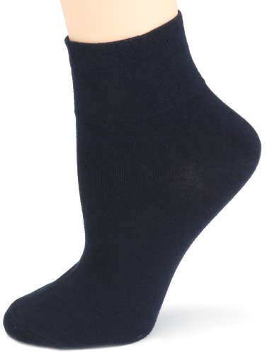 HUE Women's Three-Pack of Cotton Socks