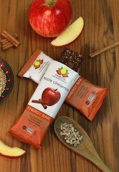 Amrita Apple Cinnamon Energy Bars (24 Pack)