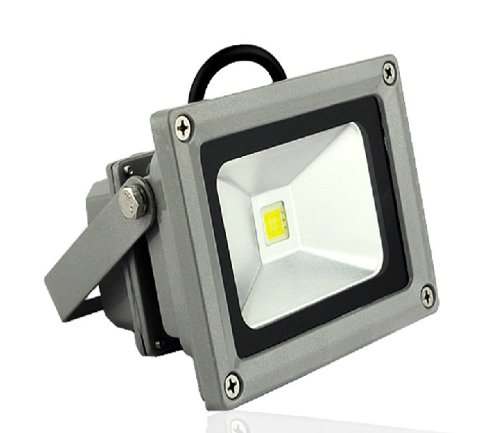 10 Watt LED Waterpoof Outdoor Security Floodlight 50W Halogen Equivalent