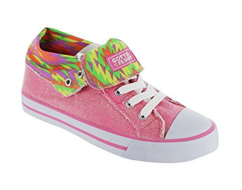 Gotta Flurt Girls Option Hi03 Hi Top Lace Up Sneakers