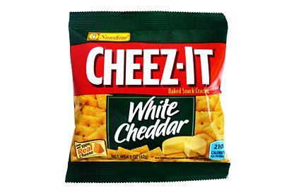 Cheez-It White Cheddar Snack Crackers, 1.5 Oz Size, 60 Pack