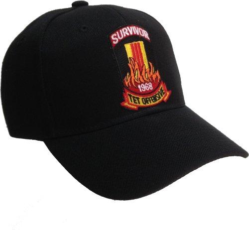 Tet Offensive Survivor hat - Black