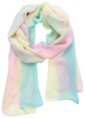 niceeshop(TM) Elegant Soft Chiffon Thin Scarf Wrap Lady Shawl Stole,Gradient Color