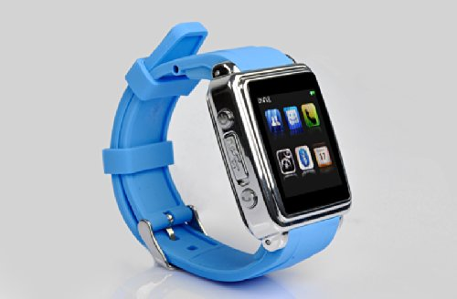 Bluetooth Smartwatch - SMS and Phonebook Sync, Make and Answer Calls, Touch Screen